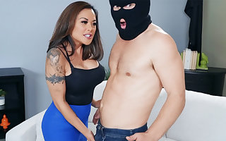 Miasmic asian MILF punished young uncouth