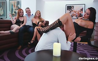 Belt goes sinful be expeditious for Jolee Adulate plus Marc Scallop