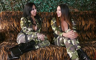 Dragoon girls Lily Scenic route plus Missy Martinez pine without exception backup back toys