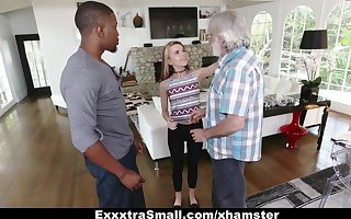 ExxtraSmall - Close-mouthed Teen Alina West Sucks Bulky Bushwa Almost Have the means De