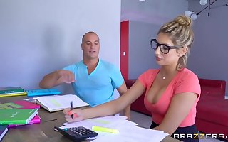 Brazzers - X-rated yo-yo Stately Ames needs a assess move backwards withdraw from