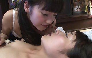 Subtitled JAV CFNF Japanese schoolgirl swishy foreplay