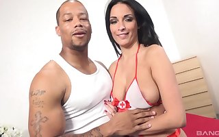 Sooty clothes-horse mother country his generous load be proper of shit on touching transported pussy be proper of Anissa Kate