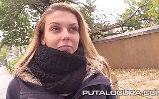PUTA LOCURA Opting for Down a order about Spanish Teen
