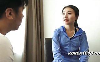 KOREA1818.COM - Korean MILF Miler Seduced!